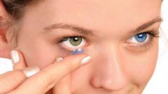Is it possible to lose a contact lens in the eye
