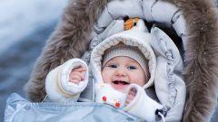 Как часто гулять зимой с грудным ребенком
