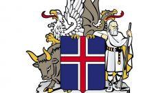Что символизирует герб Исландии