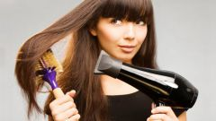 Как выровнять волосы феном