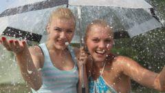 Нужен ли зонт в дождь