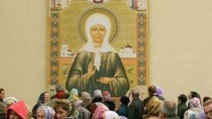 Where in Moscow are the relics of Matrona of Moscow
