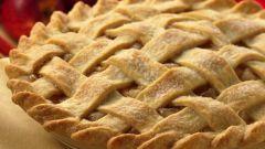 Деревенский яблочный пирог