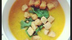 Как приготовить тыквенный суп-пюре с цукини