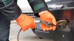 Как буксировать машину на гибкой сцепке?
