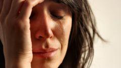 Как перестать плакать