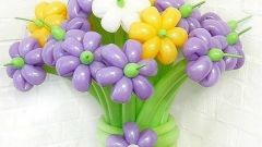 Что сделать к 8 марта из надувных шаров