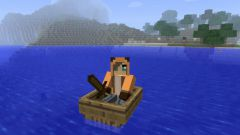 How to make a pier and a boat in minecraft