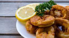 Как приготовить кальмары по-римски