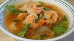 "Остро-кислый суп ""Tom Yam"""