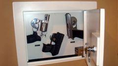 Как выбрать сейф для хранения оружия