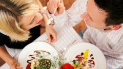 Как приготовить оригинальный обед для девушки