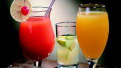 Как готовить безалкогольные коктейли
