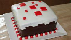 Как в minecraft сделать торт