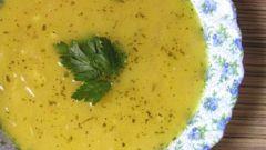 Пряный луковый суп по-персидски