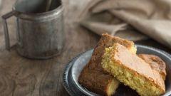 Как приготовить быстрое миндальное пирожное