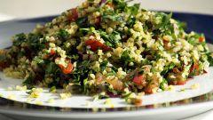 Как приготовить салат табуле