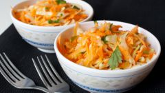 Морковное коулслоу с зирой