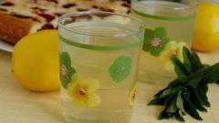 Тоник с мятой и лимоном