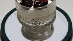 Финский творожный десерт с черносливом