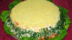 Как приготовить салат с консервированным лососем
