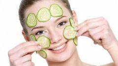 Огуречная маска для жирной кожи