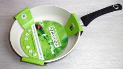 Как ухаживать за керамической сковородкой