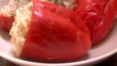 Как приготовить фаршированный перец с мясной начинкой