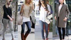 С какой одеждой и обувью лучше носить узкие джинсы