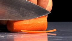 Classical methods of cutting vegetables
