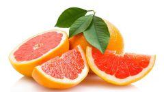 Сколько калорий в грейпфруте