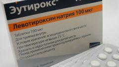 «Эутирокс»: инструкция по применению