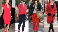 Повседневный дресс-код: леди в красном - нормально или вызывающе?