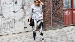 Что надеть с брюками