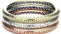 Как сочетать украшения из разных металлов