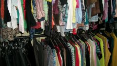 Where does second hand clothing