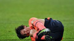 What kind of injured Messi