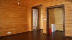 Чем покрыть стены деревянного дома из бруса изнутри
