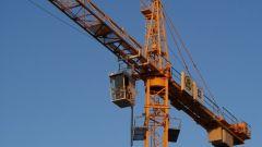 Как устанавливают башенный кран