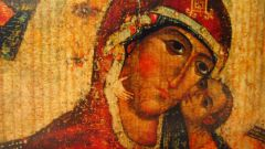 In some Russian churches, there is the miraculous icon