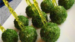 Как приготовить сырные шарики с зеленью