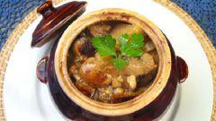 Как приготовить рагу из рыбы и грибов в сметанном соусе