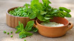 Как приготовить гороховый суп-пюре с мятой