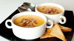 Суп-пюре из сладкого перца