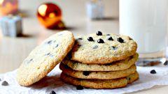 Как приготовить печенье с шоколадом