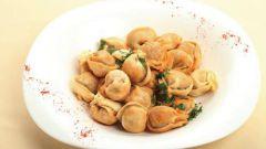 How to fry dumplings in the pan