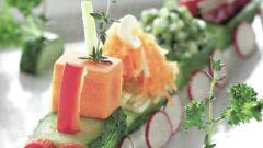 Как оригинально оформить блюда на детский праздник