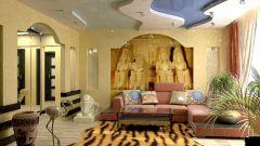 Интерьер квартиры: стиль египетских фараонов