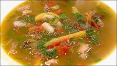 Как  быстро сварить суп «по-цыгански»