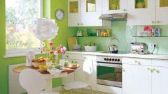 Как расширить пространство маленькой кухни